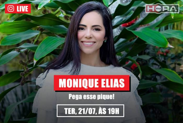 Monique Elias, empresária e youtuber, é a convidada desta terça, 21, no MH Ao Vivo