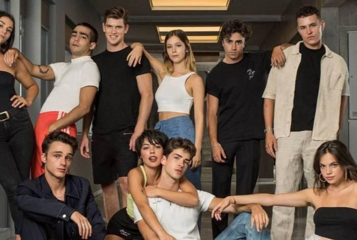 Netflix divulga foto do elenco completo de 'Elite'