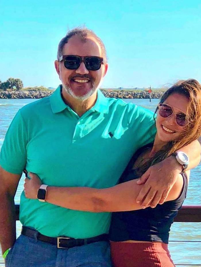 Humberto Martins e a filha, Thamires