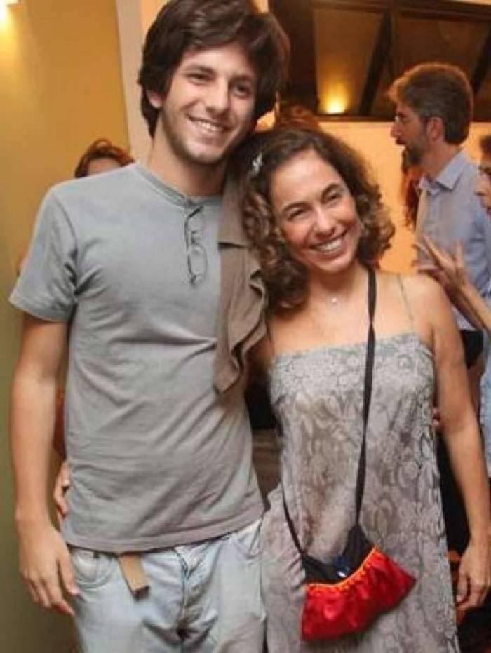Cissa Guimarães e o filho Rafael Mascarenhas