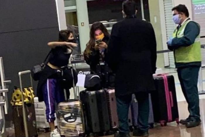 Anitta embarca para a Croácia