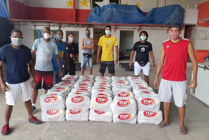Favela Solidária arrecada doações para o PPG
