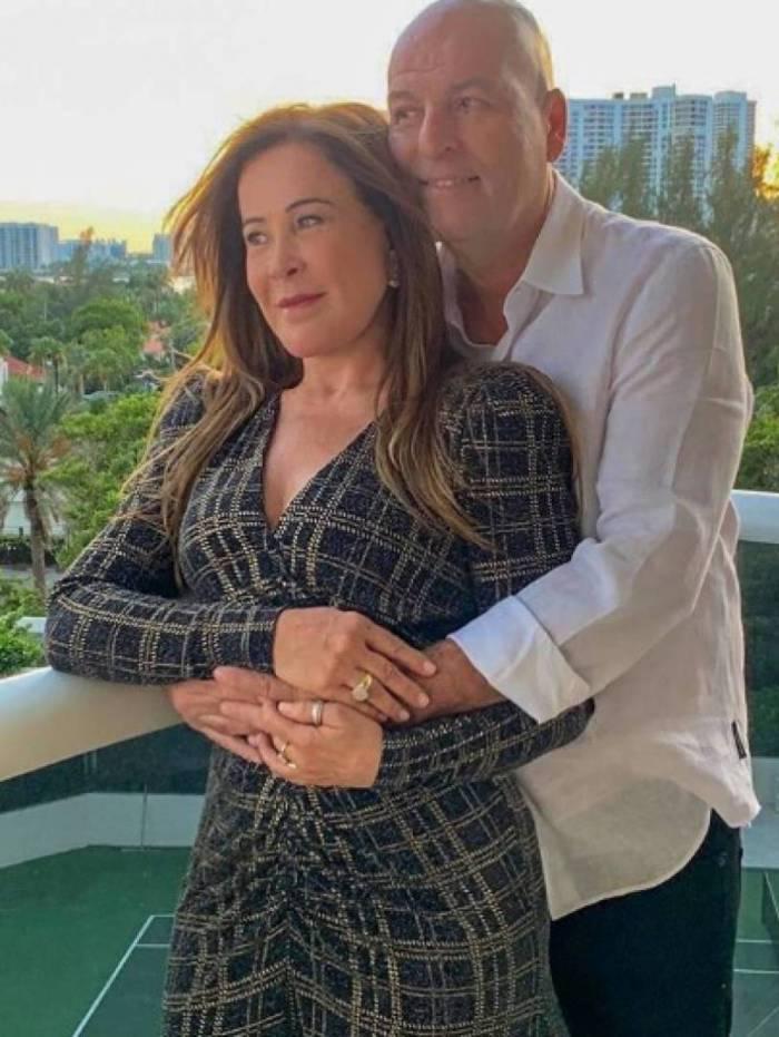 Zilu Godoi e o novo namorado Antonio Casagrande
