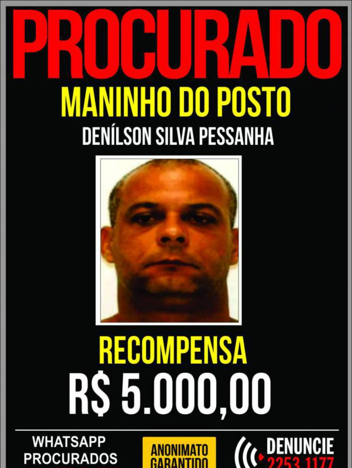 Polícia pede informações que possam levar a prisão de 'Maninho do Posto', líder de organização criminosa especializada em furto de combustível