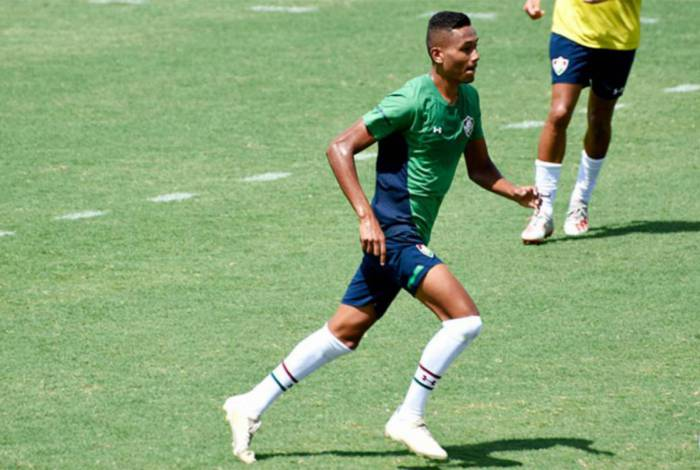 Daniel Lima, jovem do Fluminense