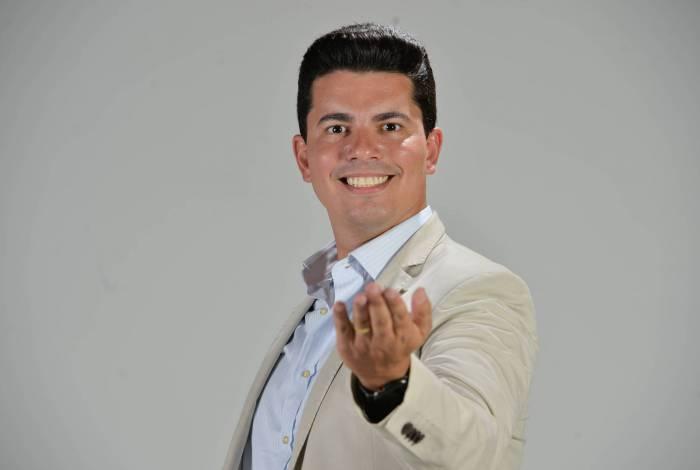 O apresentador Wagner Montes Filho