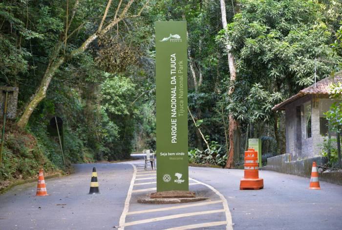 Parque Nacional da Tijuca com acesso à Vista Chinesa fechado