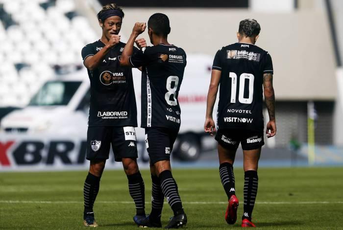 Jogadores do elenco do Botafogo