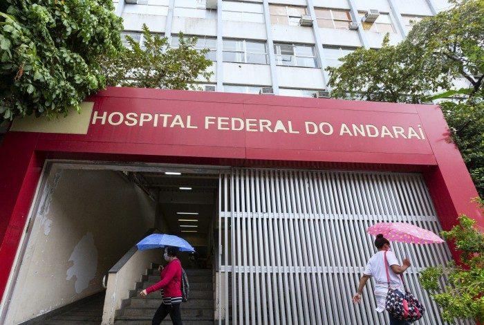 Alguns pacientes estão internados no Hospital Federal do Andaraí