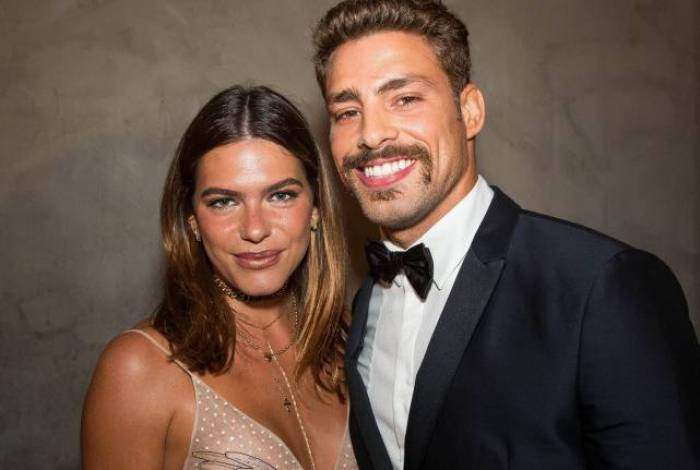 Cauã e Mariana Goldfarb