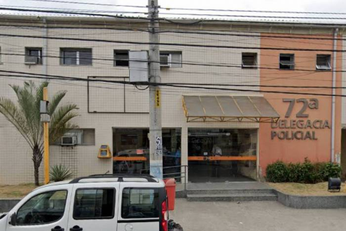 O caso foi registrado na 72ªDP (Mútua), em São Gonçalo