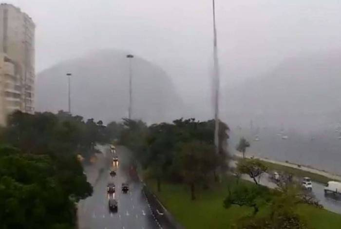 Orla do Flamengo, na Zona Sul
