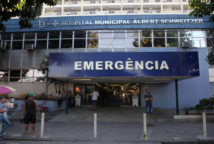 Fachada do Hospital Albert Schweitzer