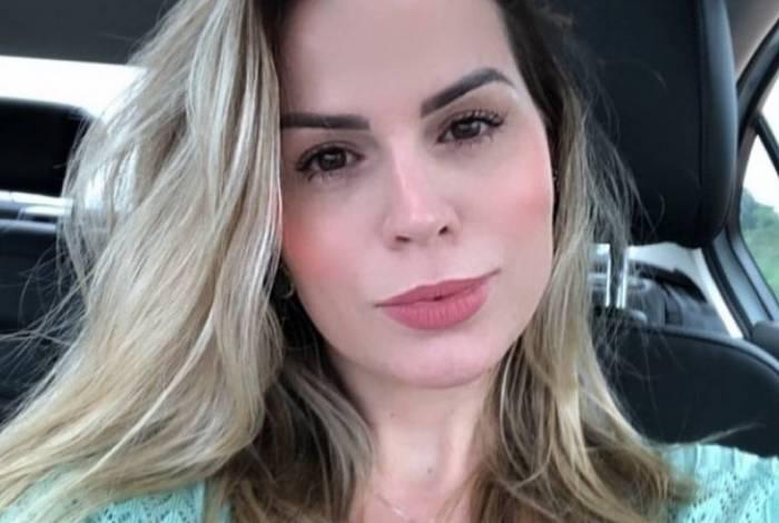 Lidiane Campos, esposa do ex-deputado federal Adilton Sanchetti (PRB-MT)