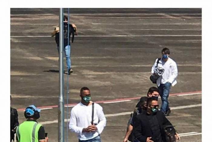 Goleiro Bruno chega em Rio Branco