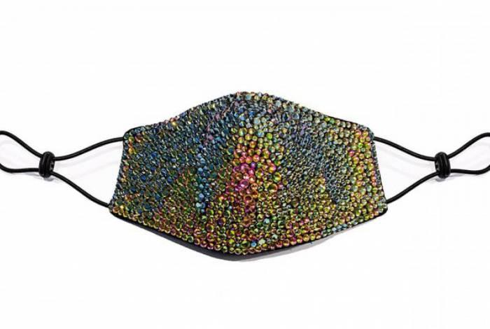 Máscara de luxo chega a custar quase R$ 3 mil