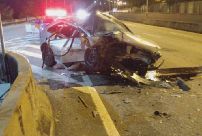 Homem morre em acidente na Linha Vermelha
