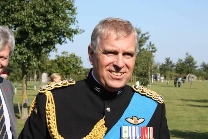 Príncipe Andrew, filho da rainha do Reino Unido Elizabeth II