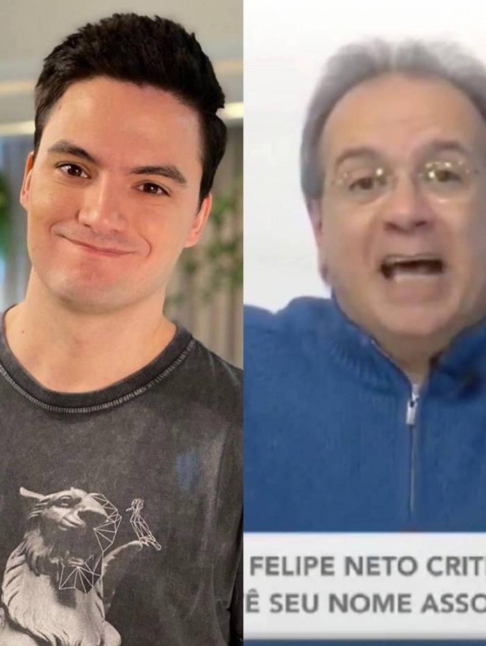 Felipe Neto diz que vai processar Gustavo Victorino