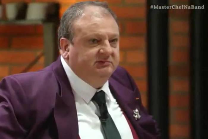 Erick Jacquin é um dos jurados criticados por sua 'grosseria' no 'MasterChef'