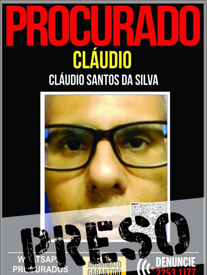 Cláudio Santos da Silva, de 47 anos