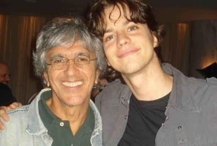 Caetano Veloso e irmão de Luciano Huck