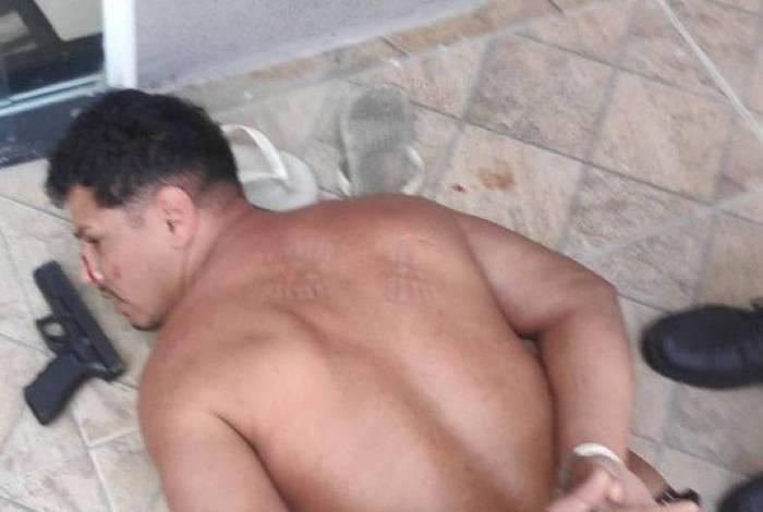 Jonas foi preso em casa em Santa Cruz, na Zona Oeste do Rio