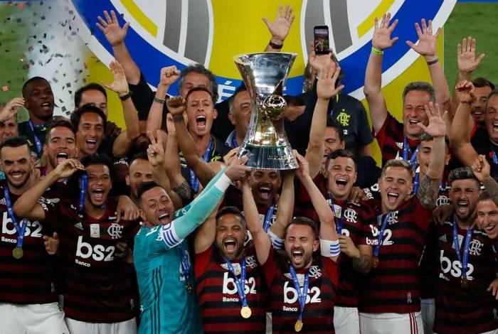 Flamengo é o atual campeão do Brasileiro