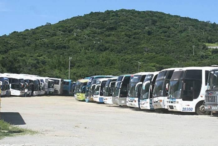 Terminal dos ónibus de Turismo de Cabo Frio