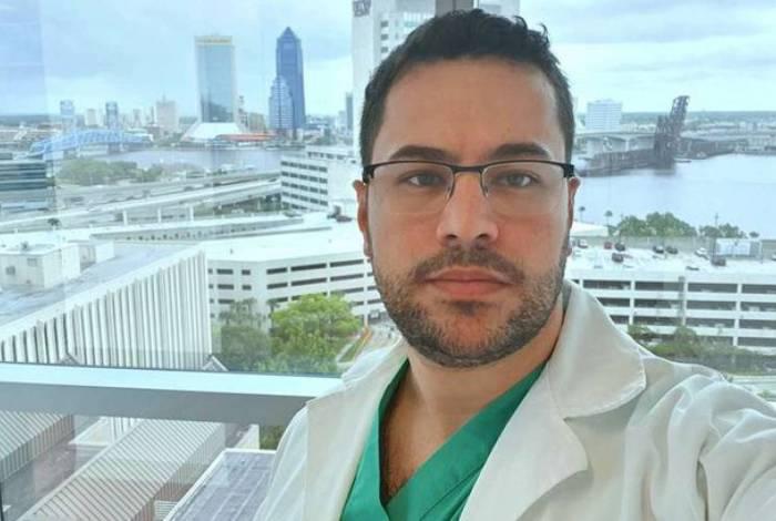 Lucas Pires, médico que fez post antes de morrer de covid-19