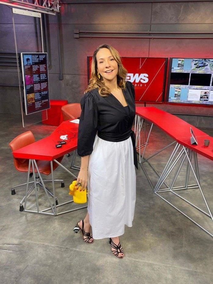 Jornalista Maria Beltrão, da GloboNews