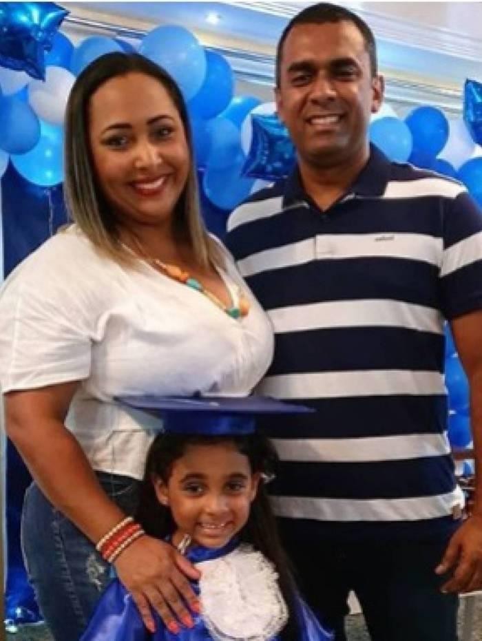 Thalita, Letícia e Felipe Terra