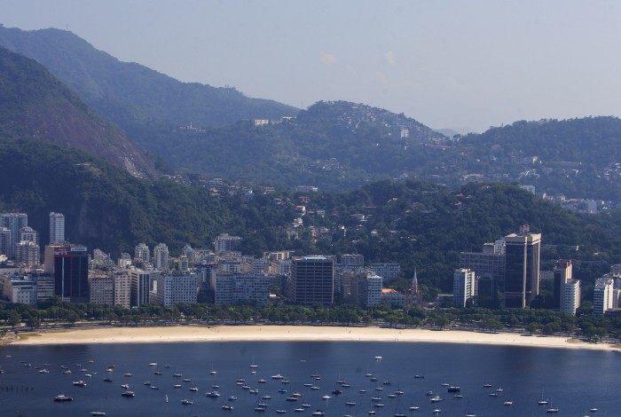 Praia de Botafogo.  Foto: Daniel Castelo Branco