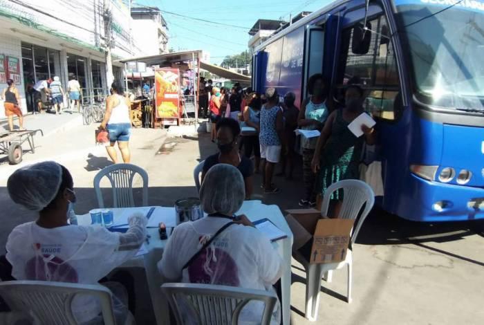 Oitavo Mutirão de Testes Rápidos atende mais de mil pessoas em Meriti