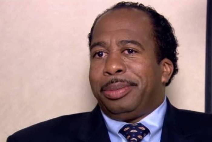 Leslie David Baker como Stanley em cena de 'The Office'