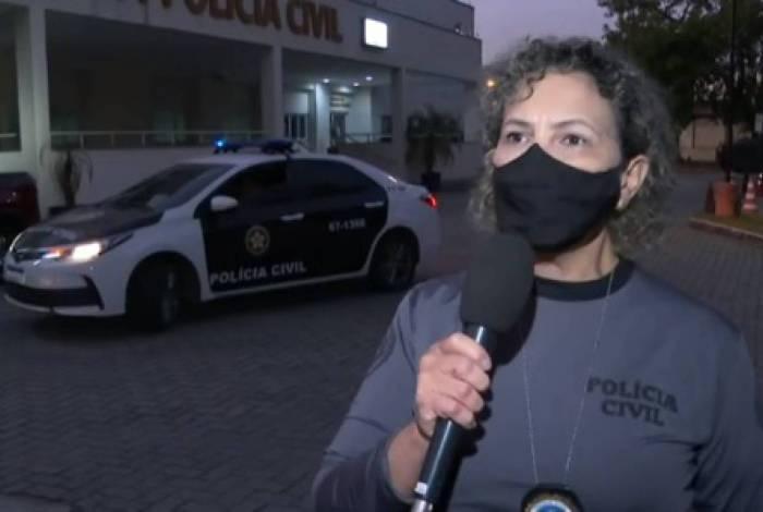Delegada Sandra Ornellas é diretora do Departamento-Geral de Polícia de Atendimento à Mulher