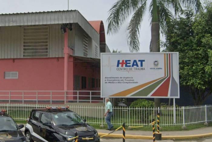 Vítima foi socorrido pelo Corpo de Bombeiro ao Hospital Estadual Alberto Torres (Heat)