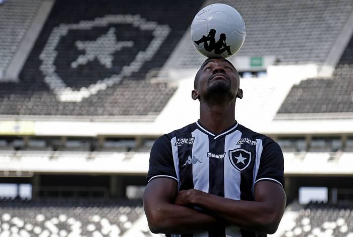 Apresentacao de Salomon Kalou do Botafogo, evento