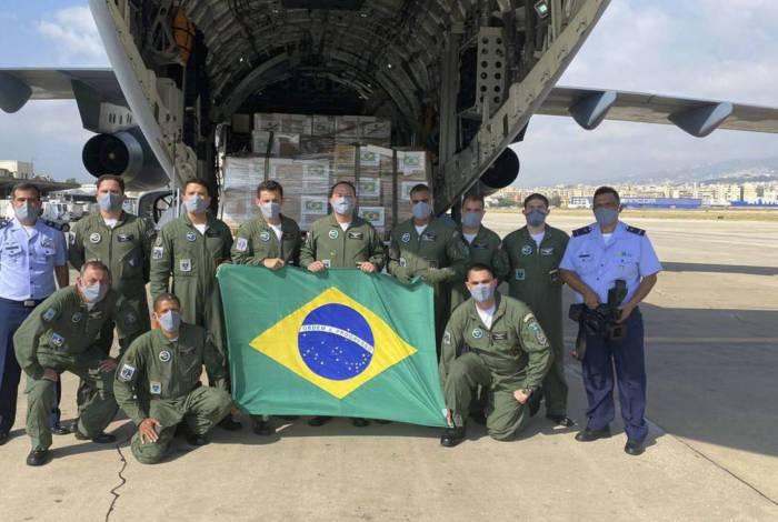 Comitiva brasileira que viajou ao Líbano