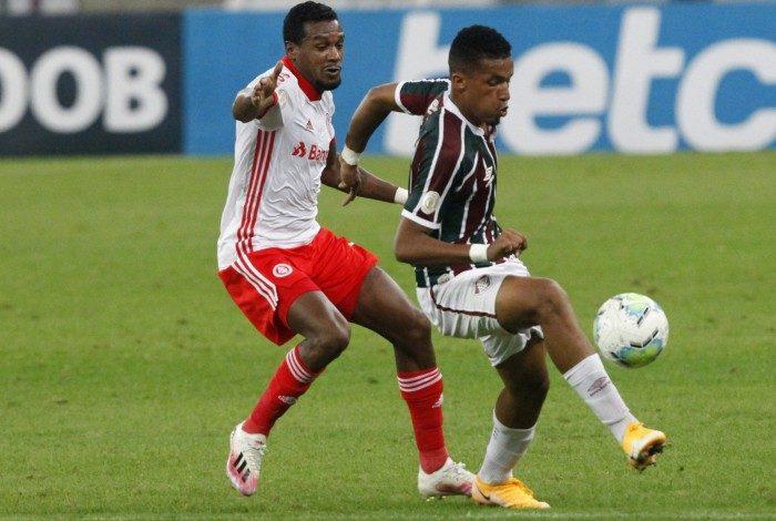 Rio de Janeiro - RJ - 16/08/2020 - Campeonato Brasileiro jogo Fluminense x Internacional, no Maracanã - Foto Gilvan de Souza / Agencia O Dia