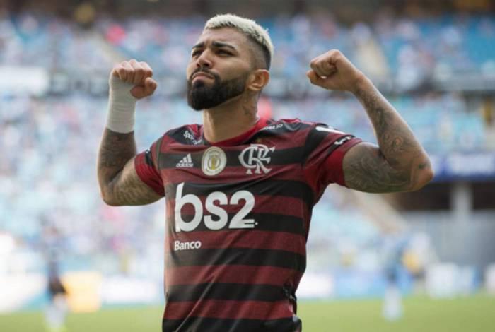 Gabigol foi decisivo no último confronto do Flamengo com o Grêmio, em Porto Alegre