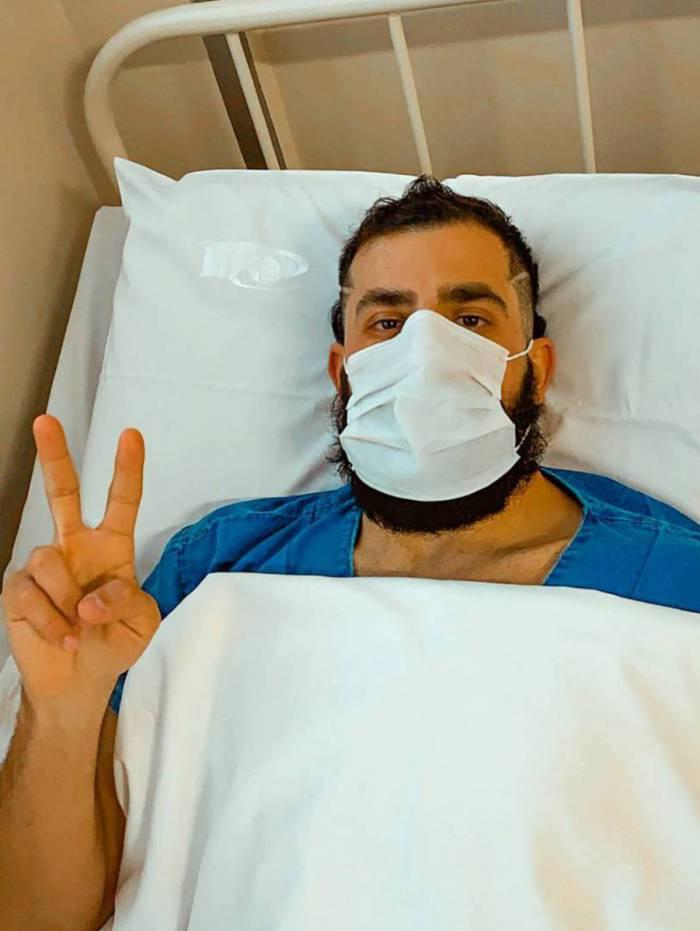 Ex-BBB Kaysar é operado e tranquiliza fãs: 'correu tudo bem'