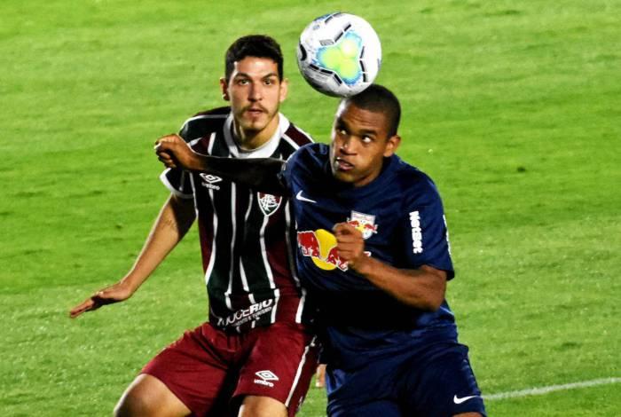 Nino no jogo Fluminense x RB Bragantino - 19/08/2020 - Nabizão