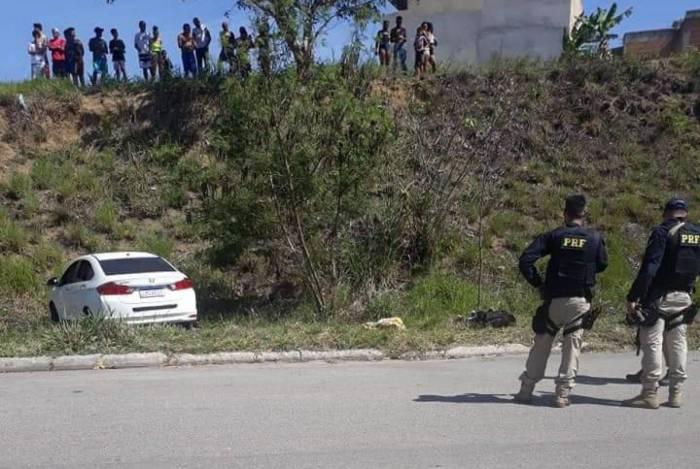 A ação aconteceu na tarde desta quarta-feira em Itaguaí, na Região Metropolitana