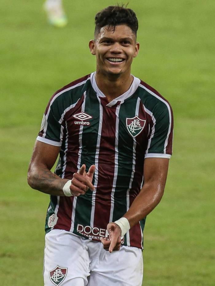 Evanilson fez o gol do Tricolor