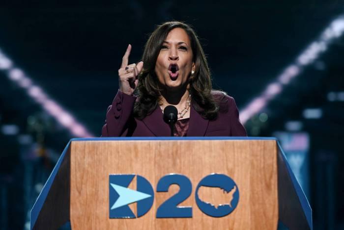 Senadora democrata, e agora vice-presidente, Kamala Harris