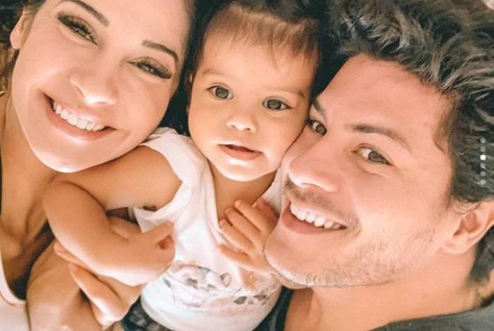 Mayra Cardi, Sofia e Arthur Aguiar