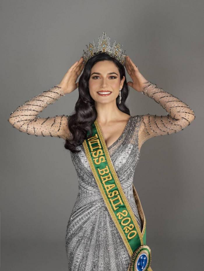 Julia Gama é eleita Miss Brasil 2020