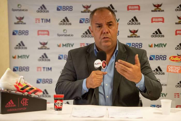 Marcos Braz revela que Domènec ficou louco com goleada sofrida pelo Flamengo