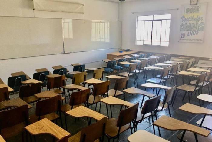 A abertura de refeitórios de escolas ainda está sem data definida